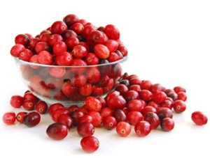toning mask with cranberries