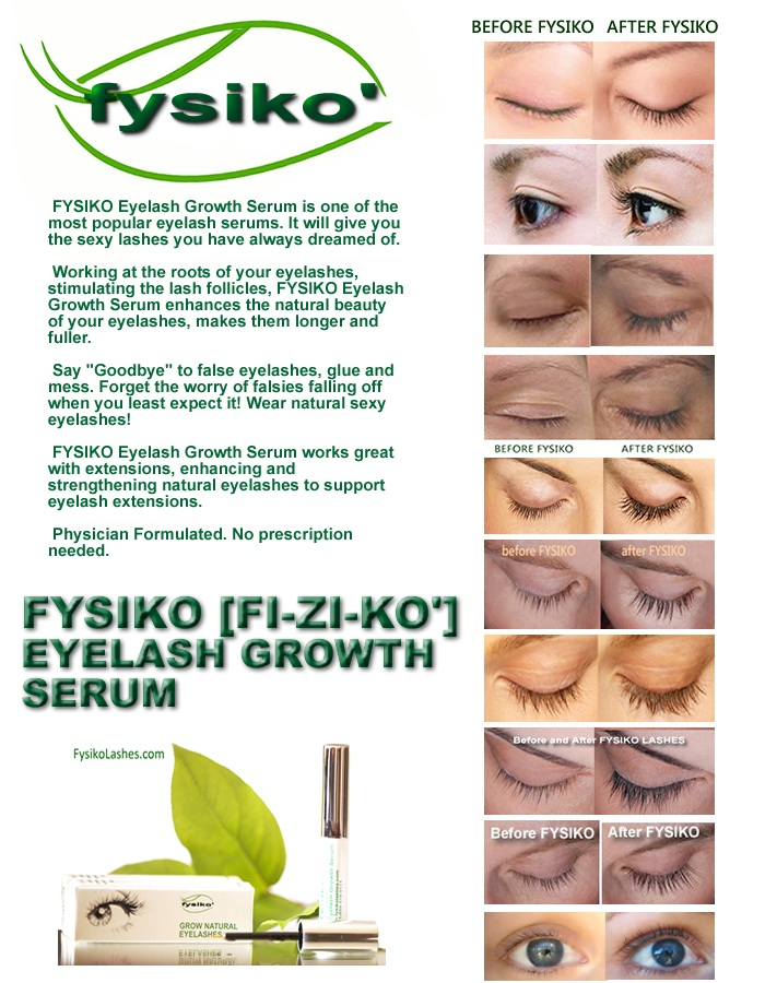 fysiko eyelash growth serum  hairstyles